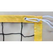 Сетка для пляжного волейбола D=3,0мм с тросом (полиэтилен)