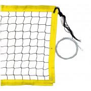 Сетка для пляжного волейбола D=3,0мм с металл тросом